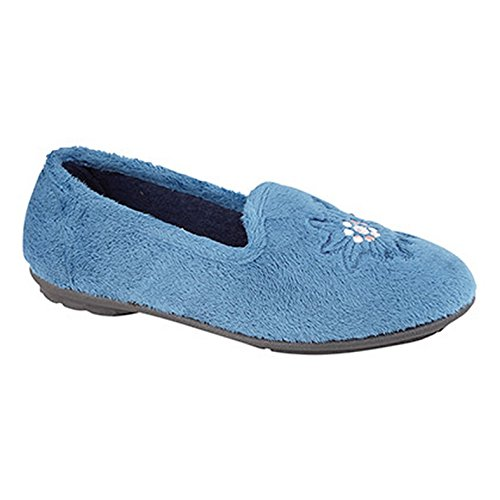 Sleepers Sleepers Tamsin Femme Tamsin Bleu Chaussons 188HBxwq