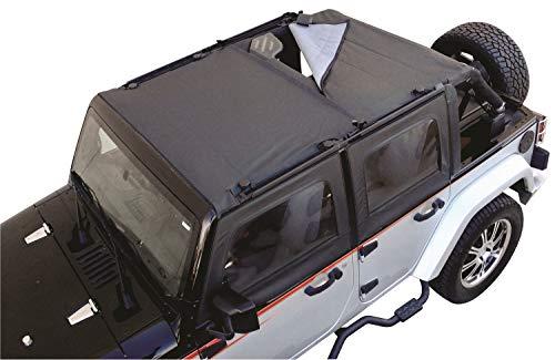 Rampage Jeep 94935 JK Combo Brief Black Diamond Soft Top