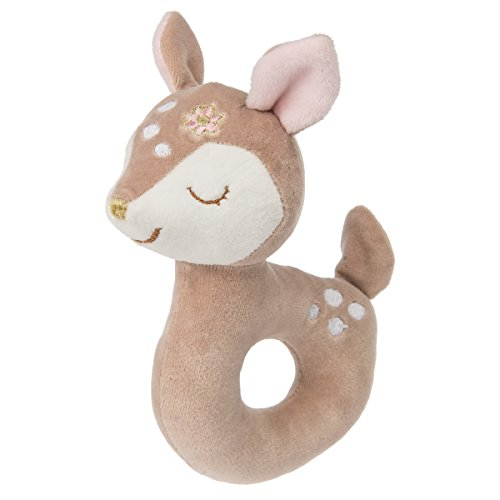 Mary Meyer Baby Rattle, Itsy Glitzy Fawn by Mary Meyer