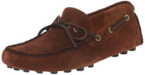 Classic Moccasins Suede (FRYE Men's Russel Tie Classic Moccasin, Brown, 8.5 M US)