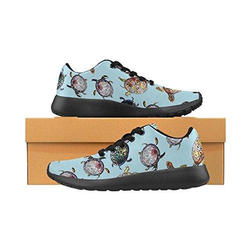 Interestprint Femmes Cross Trainer Chaussures De Course Jogging Sport Léger Marche Athlétisme Sneakers Multi 6