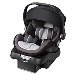Protect your baby from every angle with the Safety 1st onBoard 35 Air 360 Infant Car Seat. Providing five layers of safety, this LATCH-equipped car seat fits your child from 4 to 35 pounds in a rear-facing configuration. Shielded in the car s...