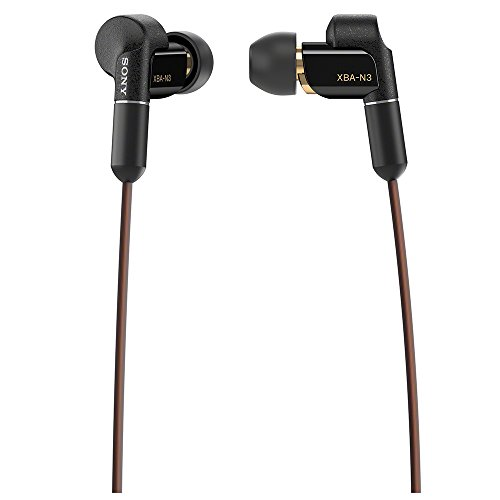 SONY XBA-N3BP Stereo In-ear Headphones (International version/seller warrant)