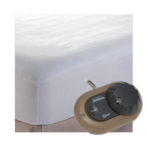sunbeam heating pad queen bed - 9