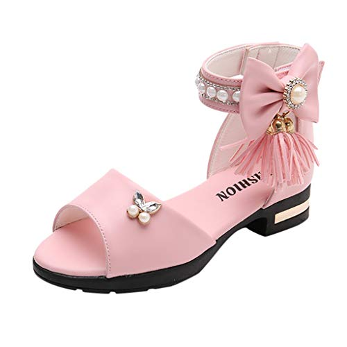 Sandals for Girls 6-7 Years,Sandals for Girls 6 to 7 Years,Sneakers for Girls with One Wheel,Pink Ballet Slippers for Girls,Boots for Girls Winter,Pink,Recommended Age:14Years,US:3Y