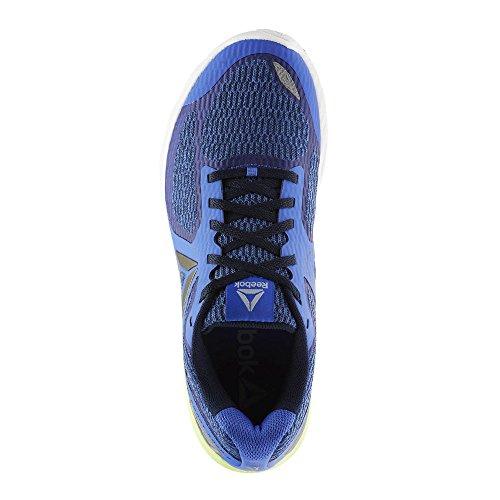 Reebok Harmony Road 2, Scarpe Running Uomo Blu (Acid Blue/Coll Navy/Wht/Elec Flash/Cld G 000)