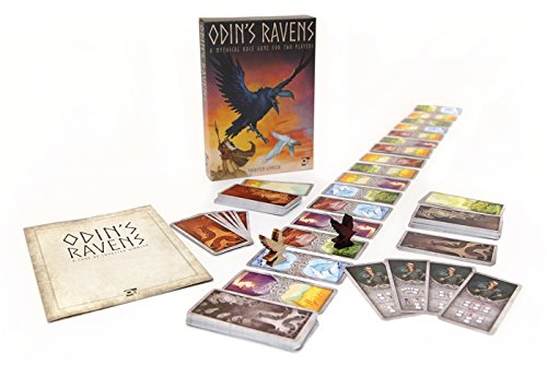 Odin's Ravens: A mythical race game for 2 players (Osprey Games) (Date Raven Night)