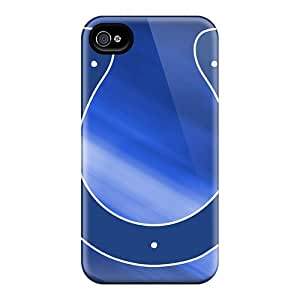 Shock Absorption Hard Phone Case For Iphone 6 (DwA3172rKKR) Support Personal Customs High Resolution Indianapolis Colts Image