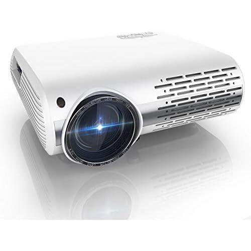 chollos oferta descuentos barato Proyector YABER Y30 7000 Lúmenes Proyector Full HD 1920x1080P Proyector Cine en Casa Soporta 4K y Sonido HiFi Ajuste Digital 4D y Función de Zoom Proyector LED con Tecnología de Nueva Generación