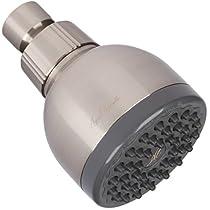 Aqua Elegante 3 Inch High Pressure Shower Head - Best Pressure For Wall Mount Showerhead - Indoor And Outdoor Modern Bath Spa Fixture