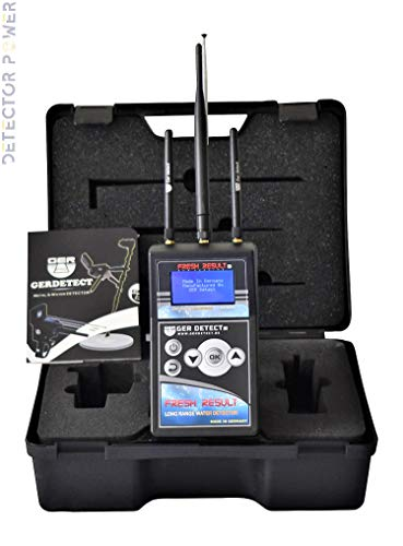 GER DETECT Fresh Result 1 Professional Underground Water Detector - Long Industrial Geolocator and Scanner for All Terrains - Well and Groundwater Finder