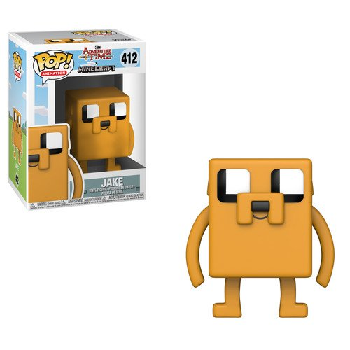 Time Pop - Funko Pop Television: Adventure Time-Minecraft Jake Collectible Figure, Multicolor