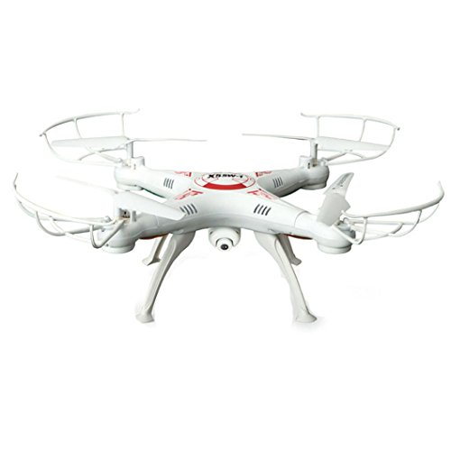 X5SW-1 6-Axis Gyro 2.4G 4CH Real-time Images Return RC FPV Quadcopter drone wifi with HD Camera