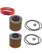 spm 2pcs oil filter for v star 1100 650 virago 1100 1000 920 750 700