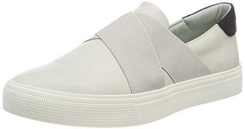 Esprit Semmy Slip on, Sneakers Basses Femme Gris (Pastel Grey)