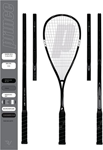 Amazon.com: Prince Pro Negro Speedport 850 Raqueta de squash ...