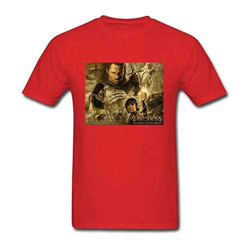 Men's LisabelSteck Lord of the Rings Short Sleeve T-Shirt
