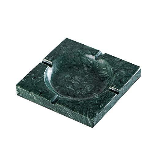 (Ashtray-Creative Marble, Stone Pure Hand Mirror Polishing Process, Living Room Coffee Table Office Smoke)
