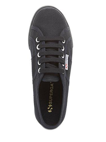 Superga Damen 2730-Cotu Sneaker Schwarz