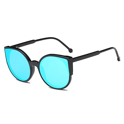 Cat Eye Sunglasses Mirror Coating Vintage Lady Sunglasses UV400 Driving Glasses