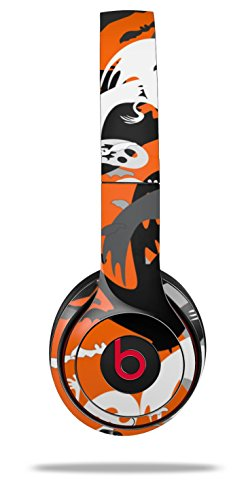 WraptorSkinz Skin Decal Wrap for Beats Solo 2 and Solo 3 Wireless headphones Halloween Ghosts (BEATS NOT INCLUDED) -