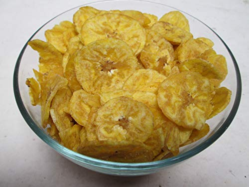 Plantain Chips-Roasted & Salted, 20 LB Bag-Candymax