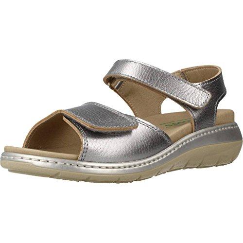 Plateado Mujer Plateado de PINOSOS Mujer Zapatos Marca Cordones Color Plateado Zapatos De 5968 PINOSOS para Modelo para Cordones qSatdX