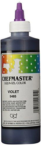 Chefmaster Liqua-Gel Food Color, 10.5-Ounce, Violet by Chefmaster