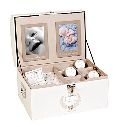 mybabylog Aufbewahrungsbox Baby-Andenken Box für Mädchen und Jungen