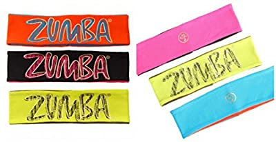Zumba Fitness Party Your Headbands Off Pack de 3 bandeaux