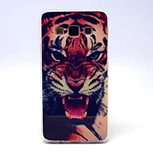 ZXC Tiger Owl Pattern TPU Soft Cover for Samsung Galaxy A3