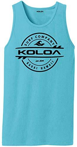 Logo Pigment - Koloa Thruster Logo Pigment-Dyed Tank Tops-TidalWave/b-L
