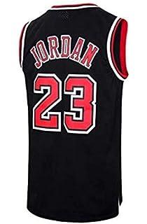 b9369cd16f028 BeKing NBA Jersey Michael Jordan # 23 Chicago Bulls Maillot de Basketball  Homme Rétro Gilet de