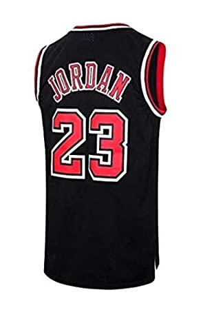 97d3df1cd7597 BeKing NBA Jersey Michael Jordan # 23 Chicago Bulls Maillot de Basketball  Homme Rétro Gilet de