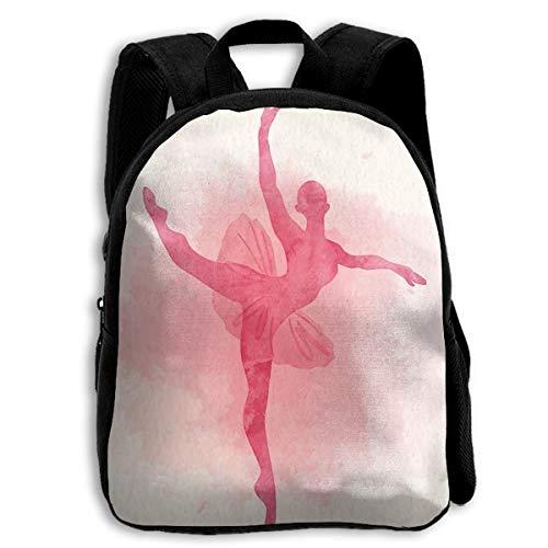 (Ballerina Dancing Ballet (15) Custom Personalized Toddler Backpacks Preschool Daybag Gift)