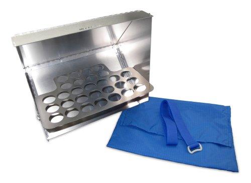 Lightweight Aluminum Reflector Oven (Blue)