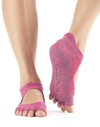 Ruby calzini 1 usate calze Fitness danza ballo antiscivolo da Calzini possono paio e Pilates Grip per essere Yoga Bellarina calze ToeSox Barre da F7RfxwqBU