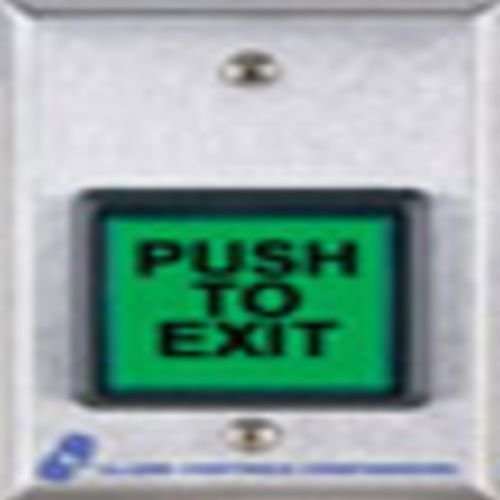 Push Button, 5 in. H, w/Face Plate