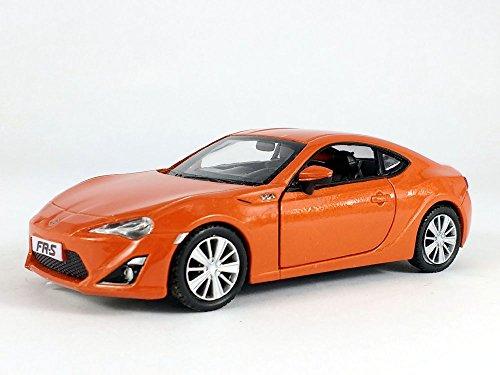 Uni-fortune 5 inch Scion FR-S (Toyota 86, Subaru BRZ) Scale Diecast Metal Model - Orange (Die Cast Scion)