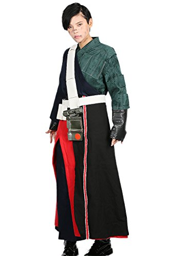 Xcostume Chirrut Imwe Cosplay Costume Outfit for Mens Halloween M (Male Halloween Outfits)