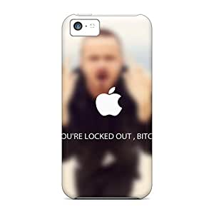 Quality ChrisArnold Cases Covers With Locked Out Nice Appearance Compatible With Iphone 5c