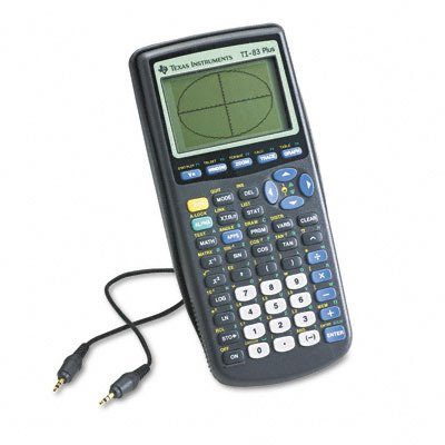 511723-TI-83 Plus Graphing Calculator 10-Digit LCD Case Pack