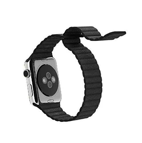 TOOPOOT(TM) Hot Sale Leather Loop Strap Watchband For AppleWatch 42mm