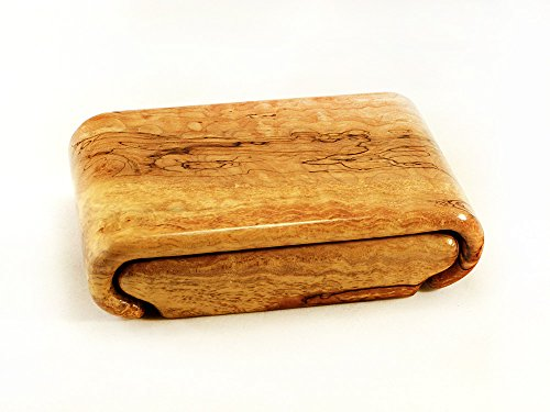 Spalted Quilted Maple Burl Box by Wood Box Art