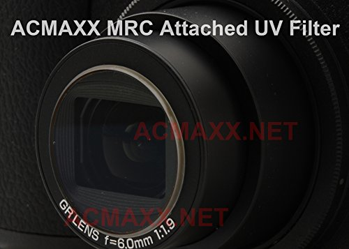 ACMAXX LENS ARMOR Multi-Coated UV FILTER for Fujifilm X100 / X100S APSC camera by Acmaxx