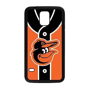MLB Baltimore Orioles Black Phone Case for Samsung S5