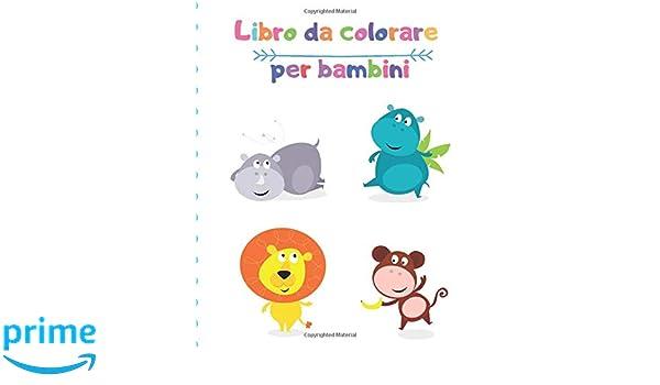 Libro Da Colorare Per Bambini Animali Libro Da Colorare Per