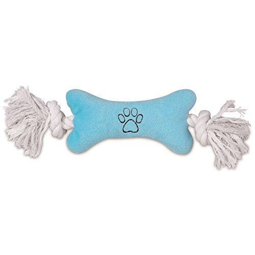 Zanies Tiny Tugger Dog Toys, Blue, 7