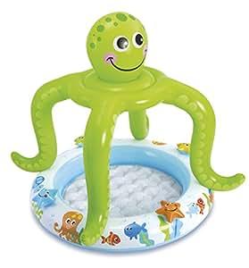 Intex piscina hinchable pulpo parasol 102 x 104 cm 45 for Amazon piscinas infantiles