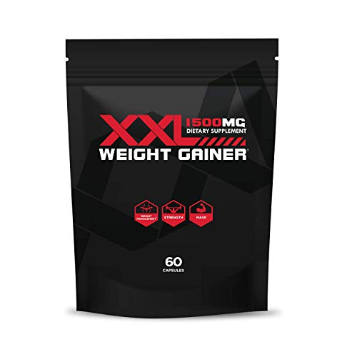 XXL Weight Gain Pills – Weight Gain Pills for Men and Women – Appetite Stimulant to Help Gain Weight Fast – All-Natural Plant Based Weight Gain Tablets – Approved Weight Gain Pills – 90 Capsules